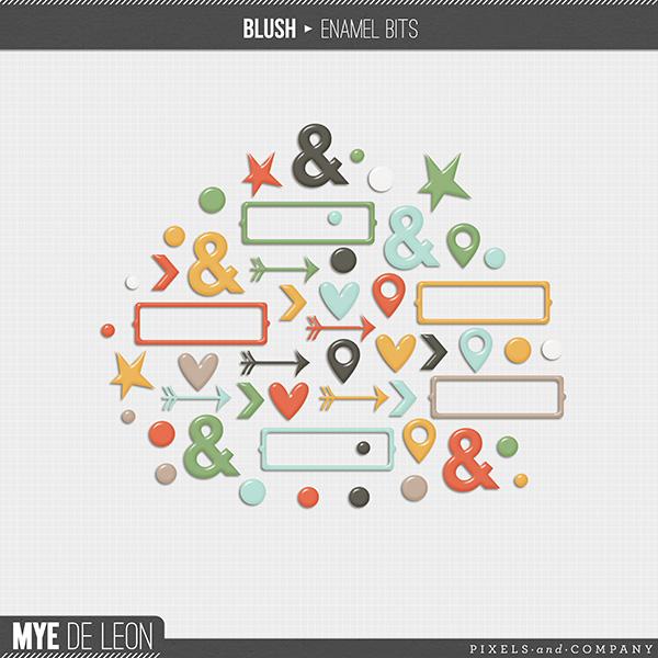 Blush | Enamel Bits
