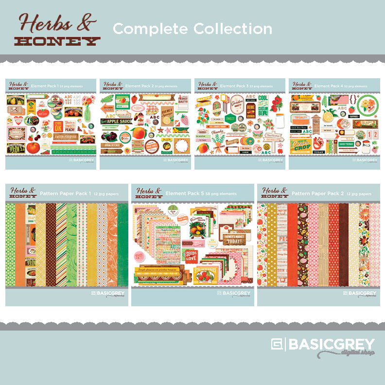 Herbs & Honey Complete Collection