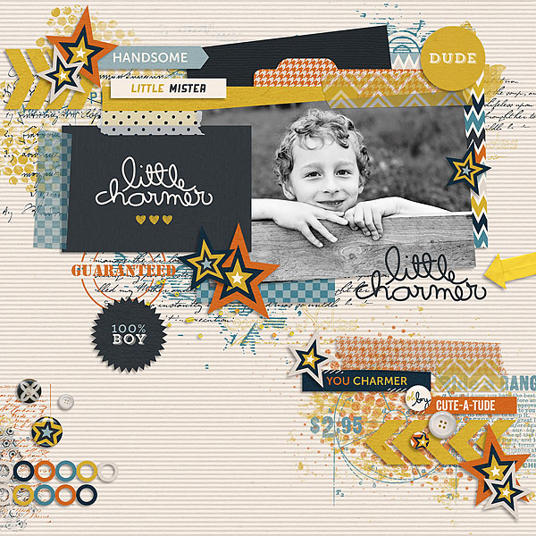 You Charmer   Journal Cards