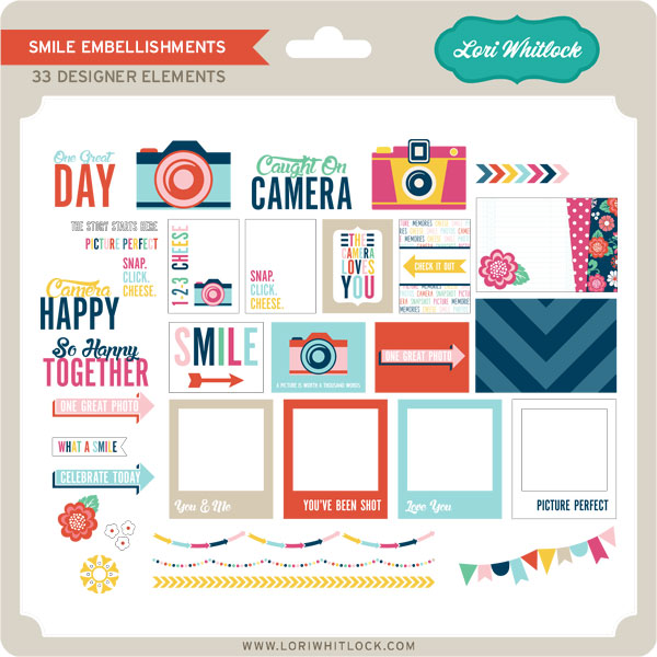 Smile Embellishments