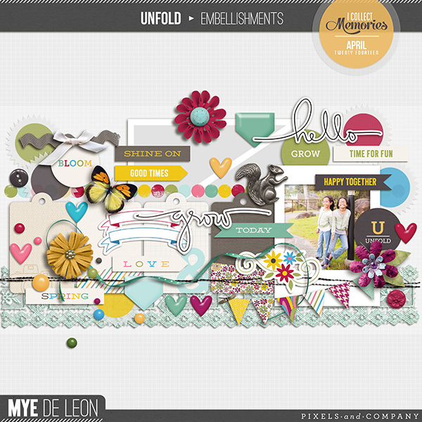 Unfold | Embellishments