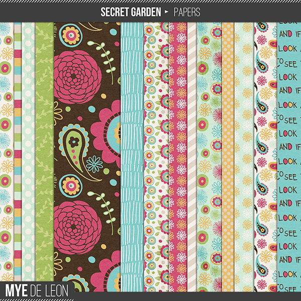 Secret Garden | Paper Pack