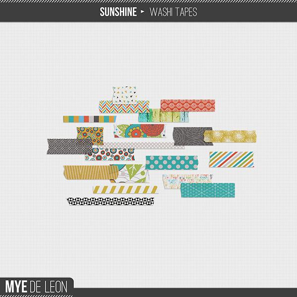 Sunshine   Washi Tapes
