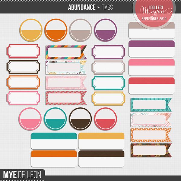 Abundance | Tags