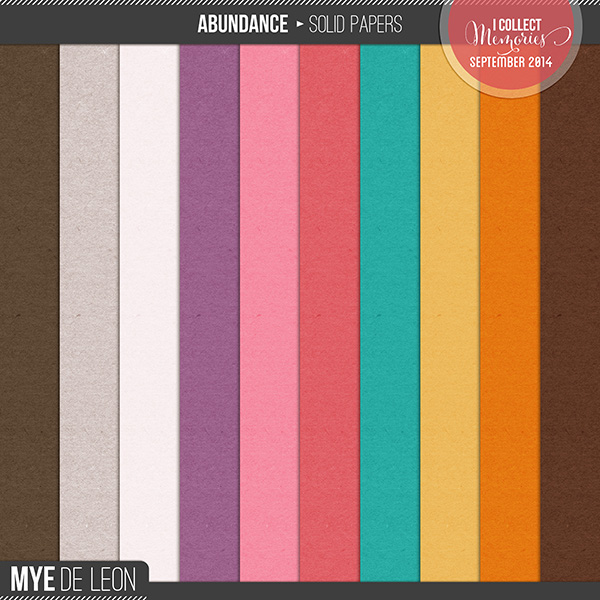 Abundance | Solid Papers