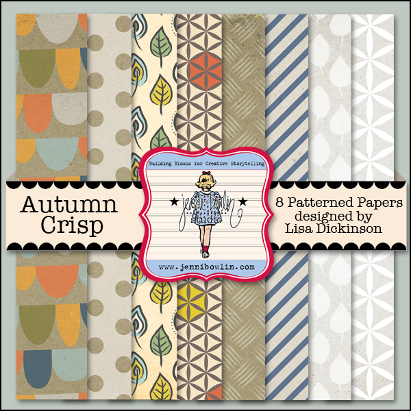 Autumn Crisp Cardstock coordinates with our Autumn Crisp patterned paper kit.