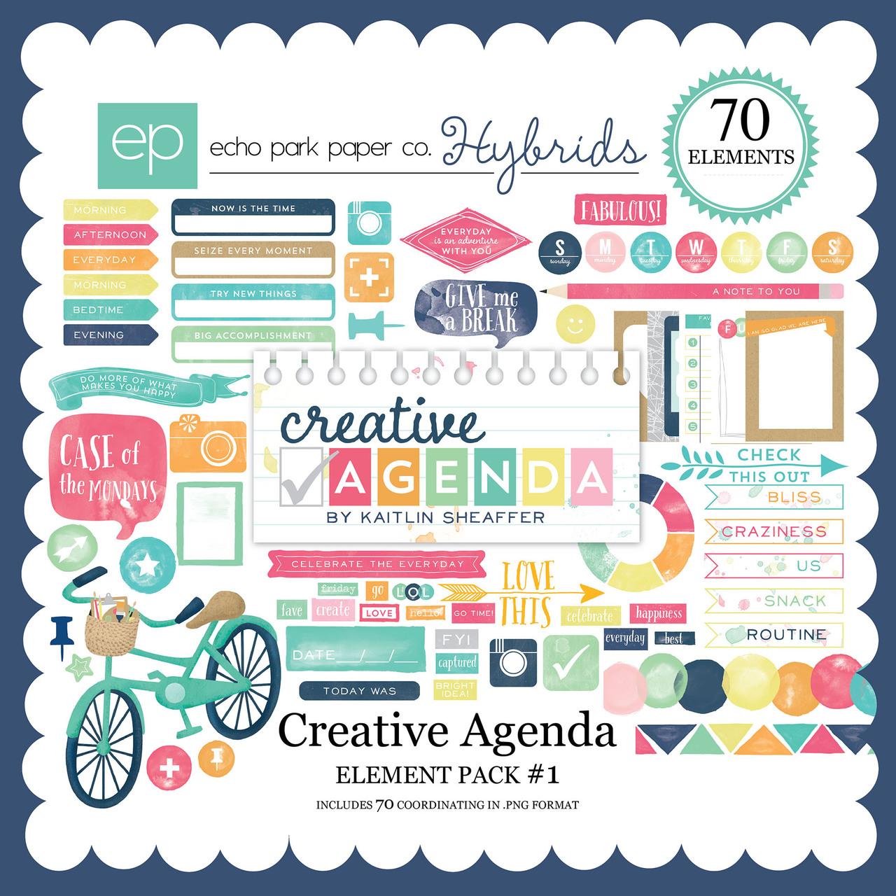 Creative Agenda Element Pack #1