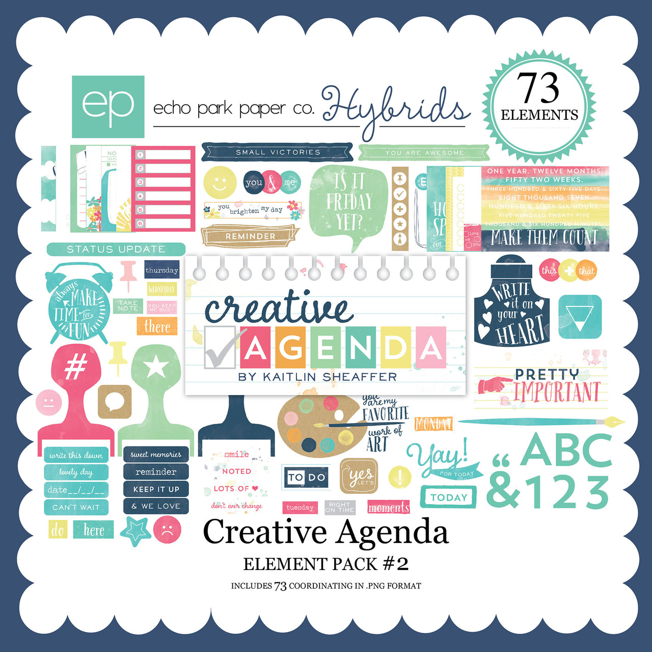 Creative Agenda Element Pack #2