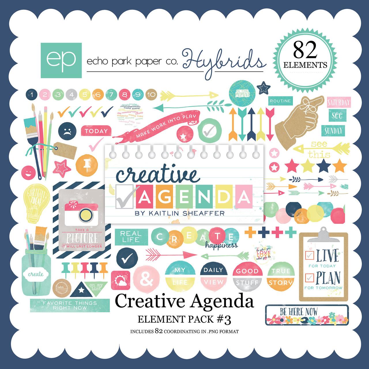 Creative Agenda Element Pack #3