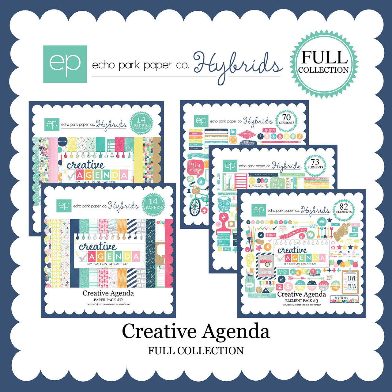 Creative Agenda Mega Collection