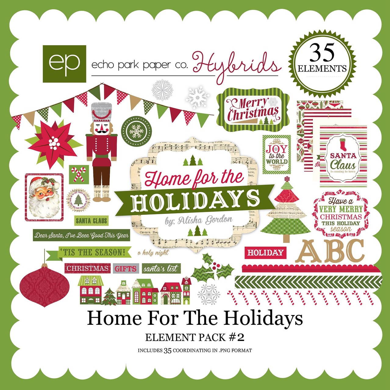 Home For The Holidays Element Pack #2