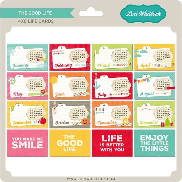 The Good Life Cards + Words