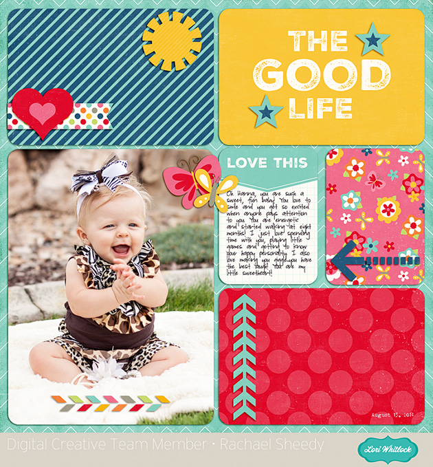 The Good Life Paper Set 1