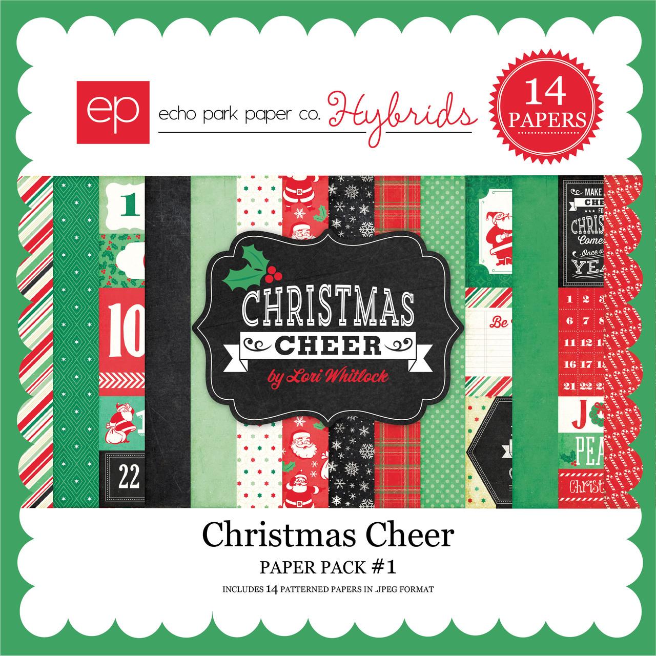 Christmas Cheer Paper Pack #1