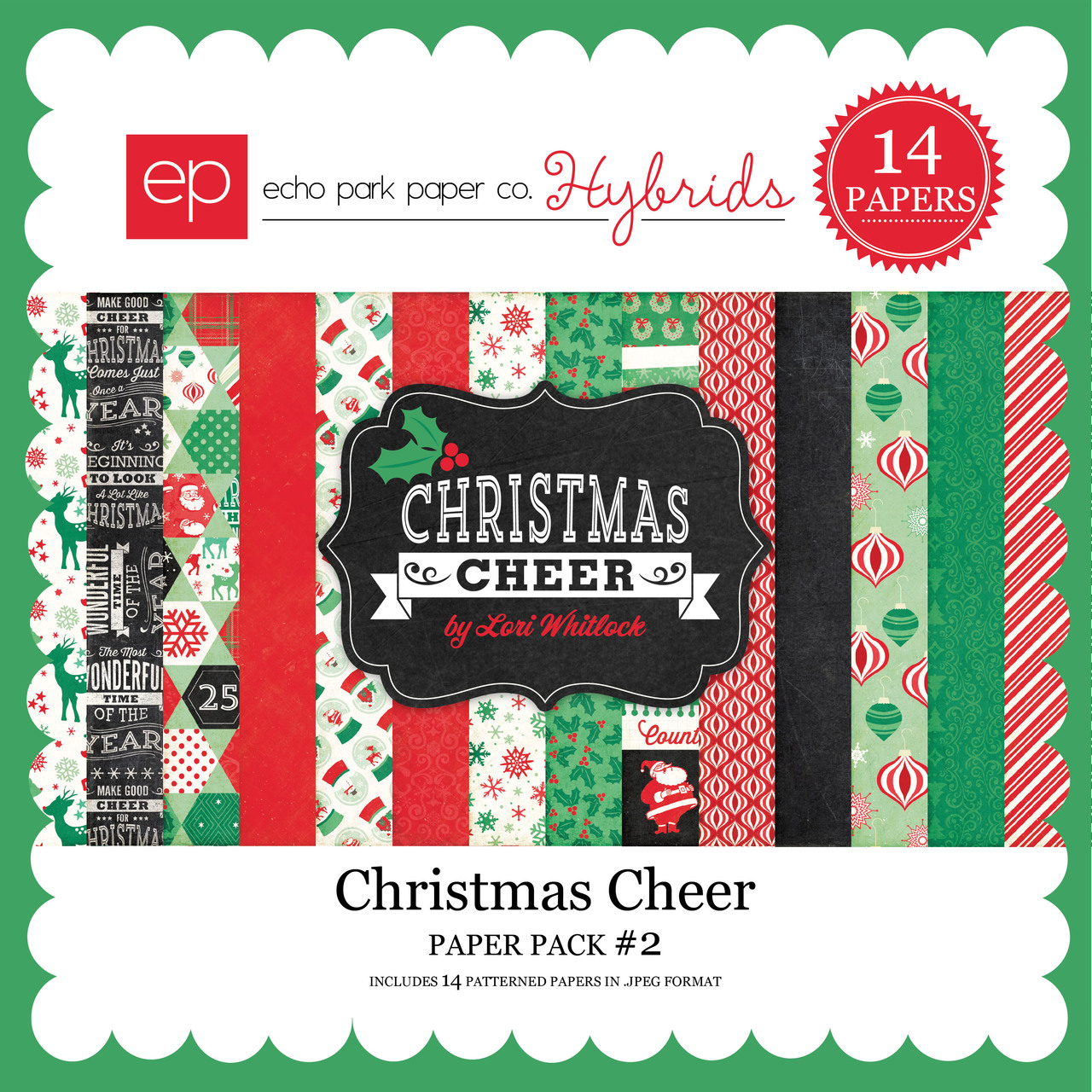 Christmas Cheer Paper Pack #2