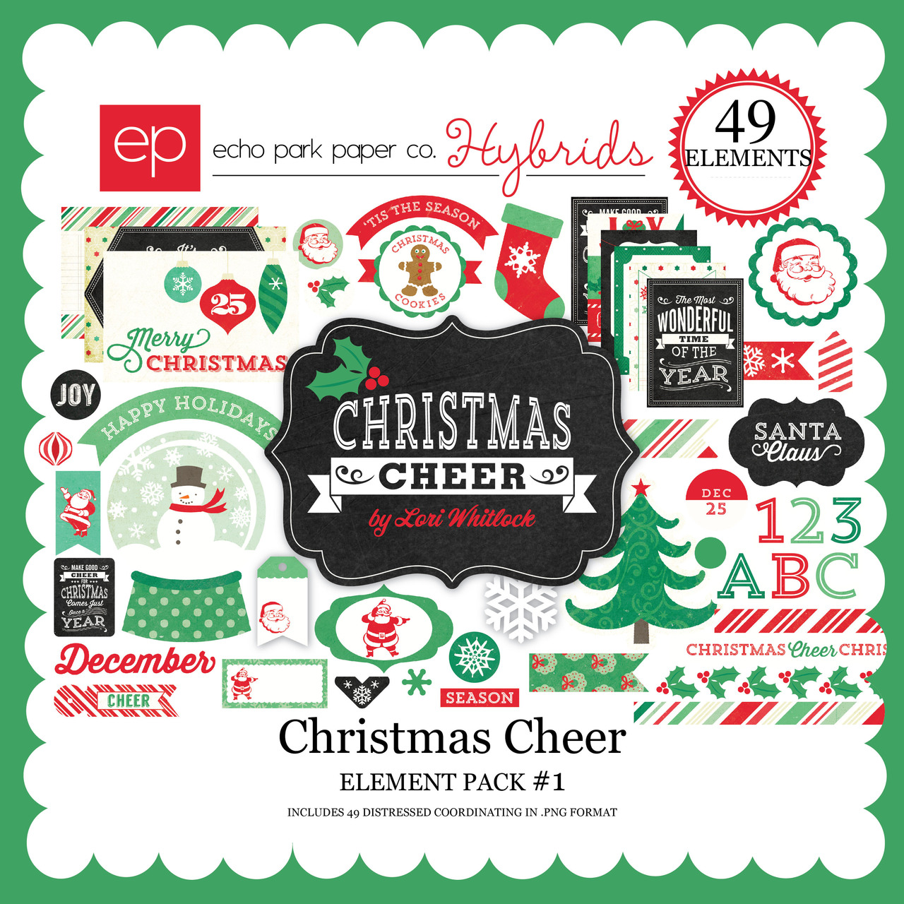 EP Christmas Cheer Element Pack #2