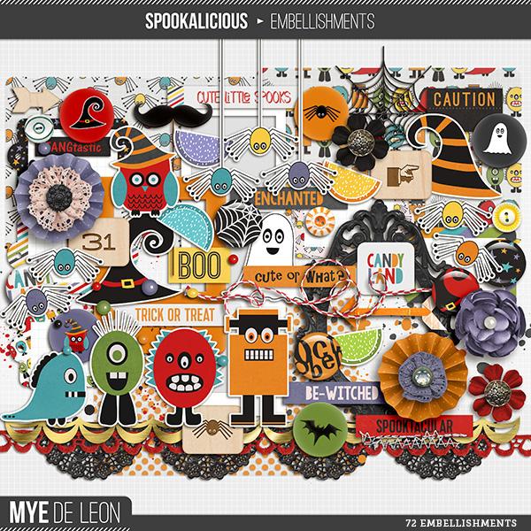 Spookalicious | Embellishments