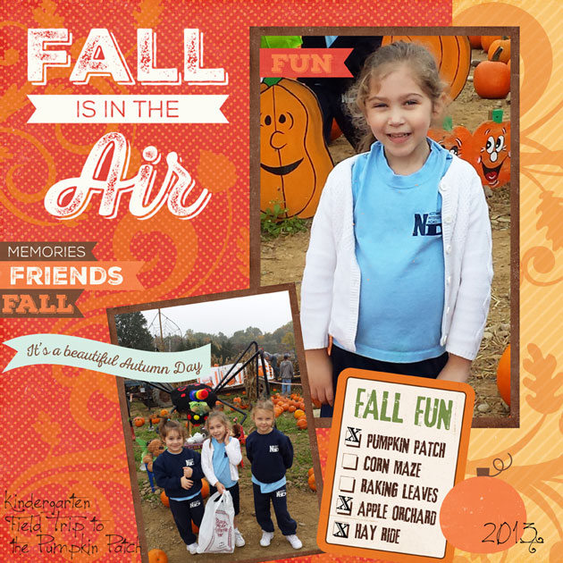 Fall Is In the Air Life Cards