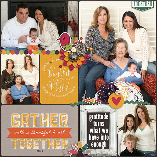 Gather Together | Journal Cards