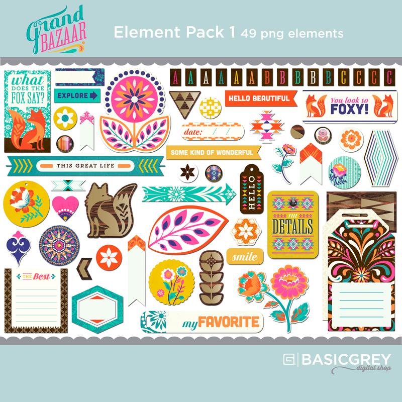 Grand Bazaar Element Pack 1