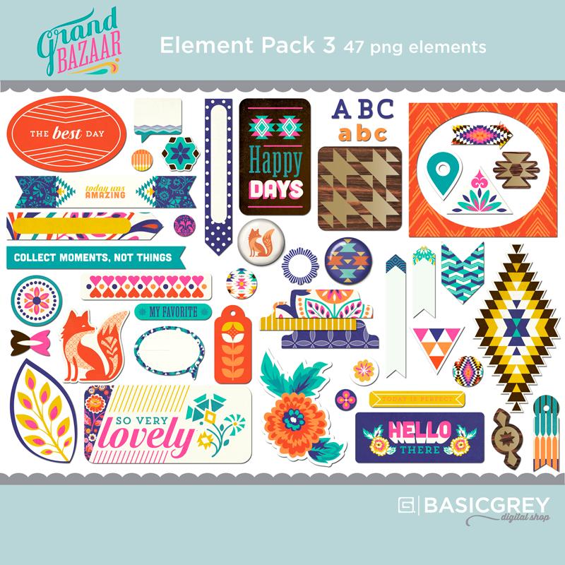 Grand Bazaar Element Pack 3