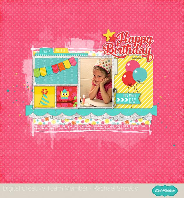 Birthday Fun Elements