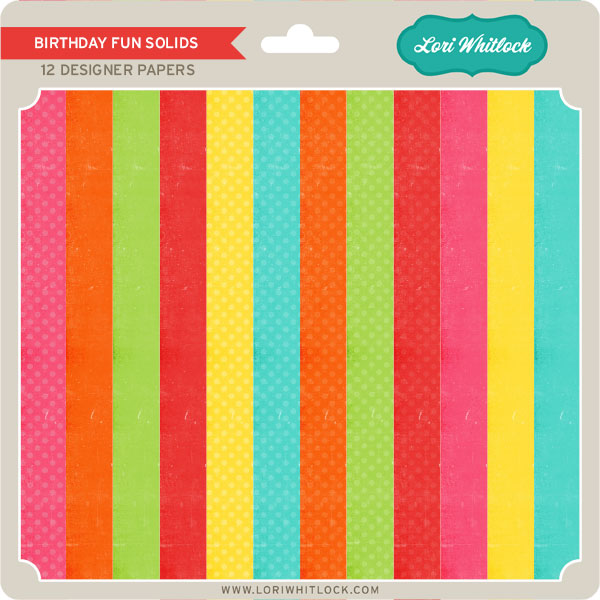 Birthday Fun Solids