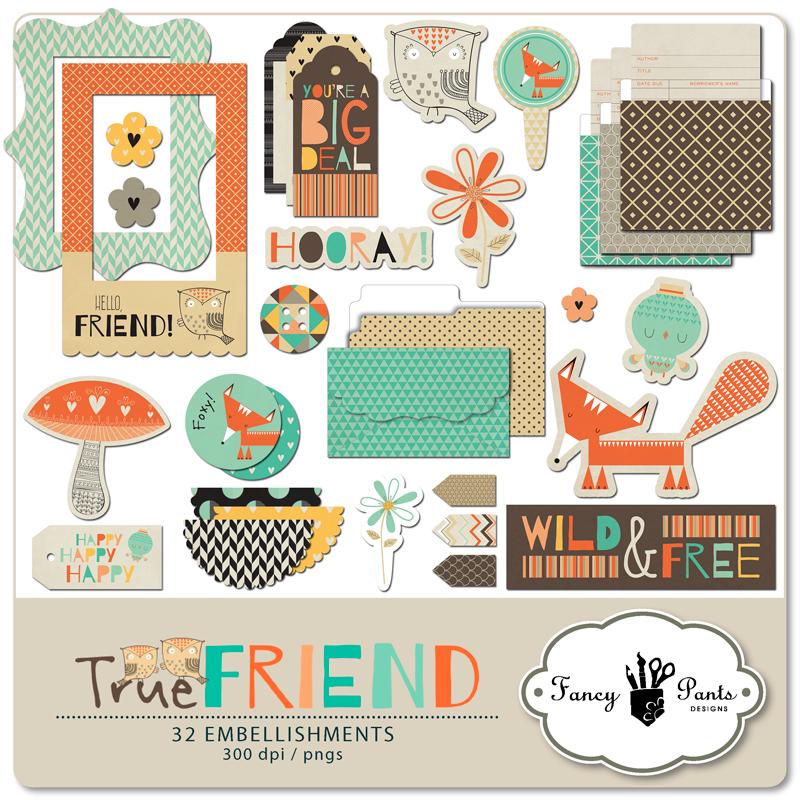 True Friend Element Pack #2