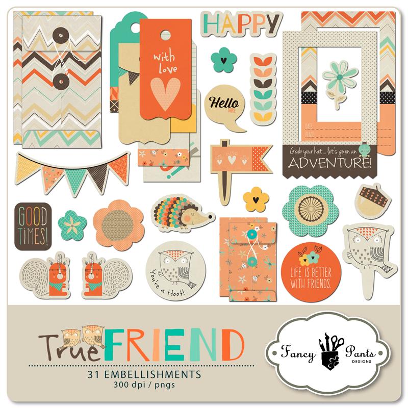 True Friend Element Pack #3