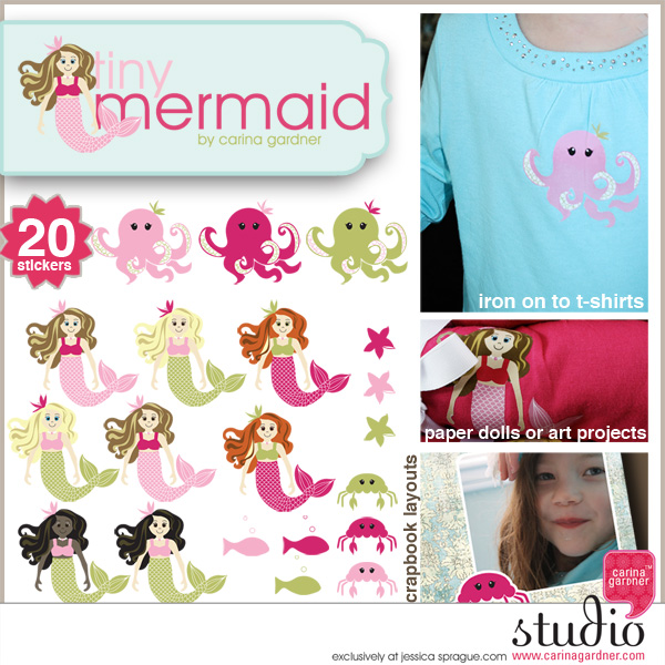 TINY MERMAID - Stickers