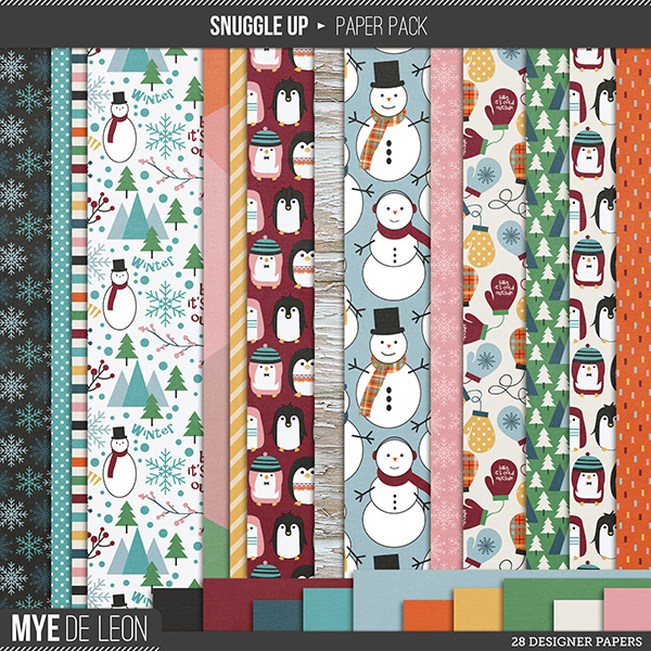 Snuggle Up | Paper Pack
