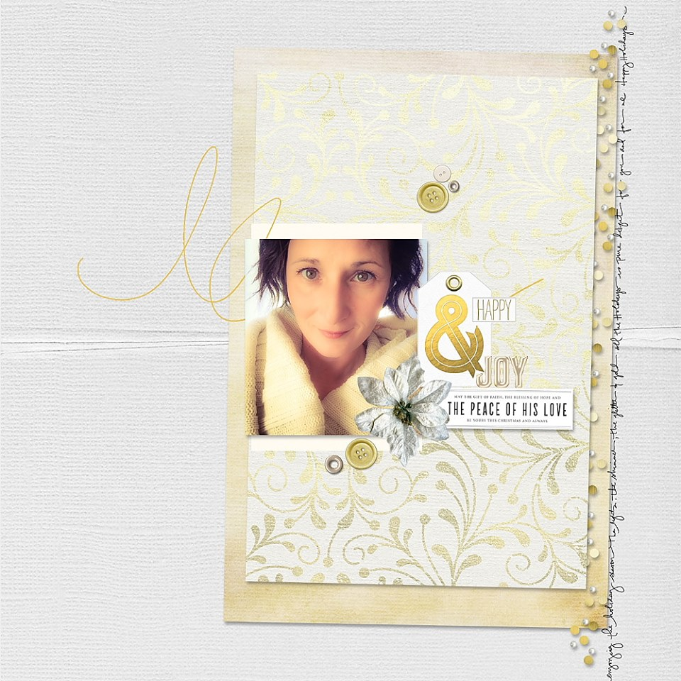 This awesome layout was created by Reneé Dezember!