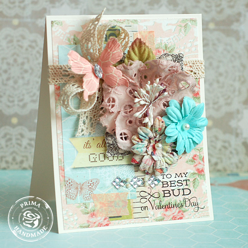 Sample card using Divine Papers