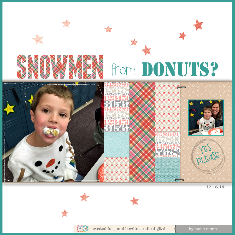 Digital layout by Susie Cannon Moore