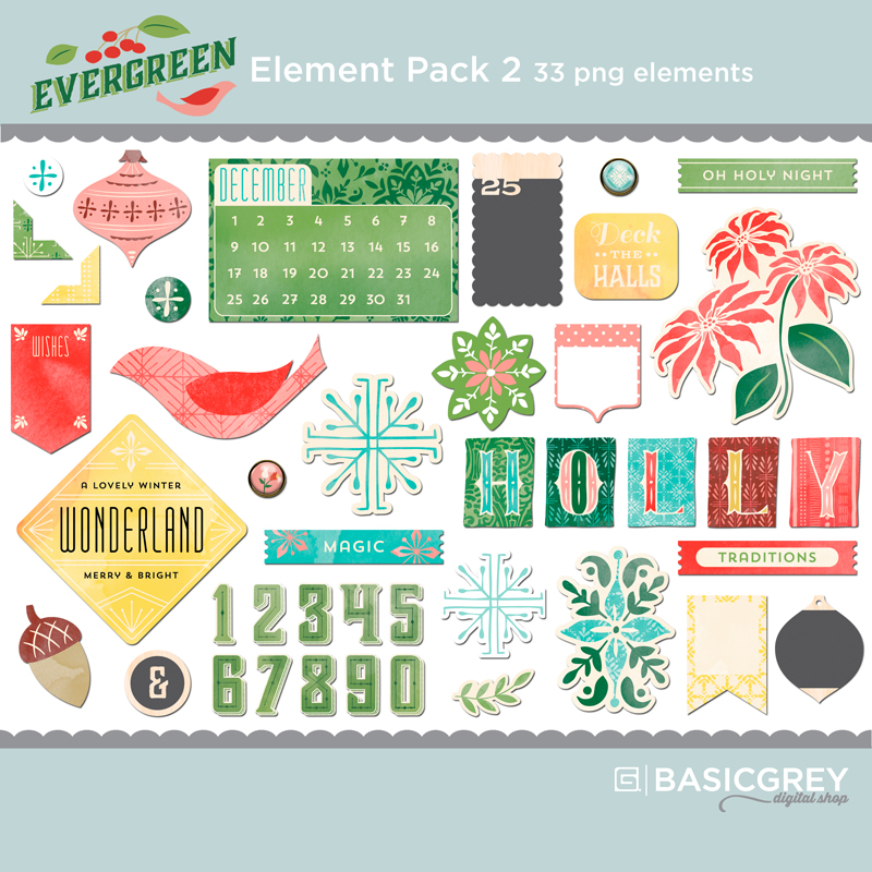 Evergreen Element Pack 2
