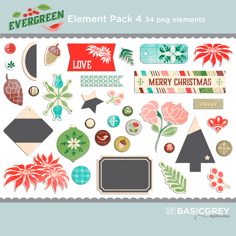 Evergreen Element Pack 4