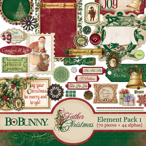 Father Christmas Element Pack 1