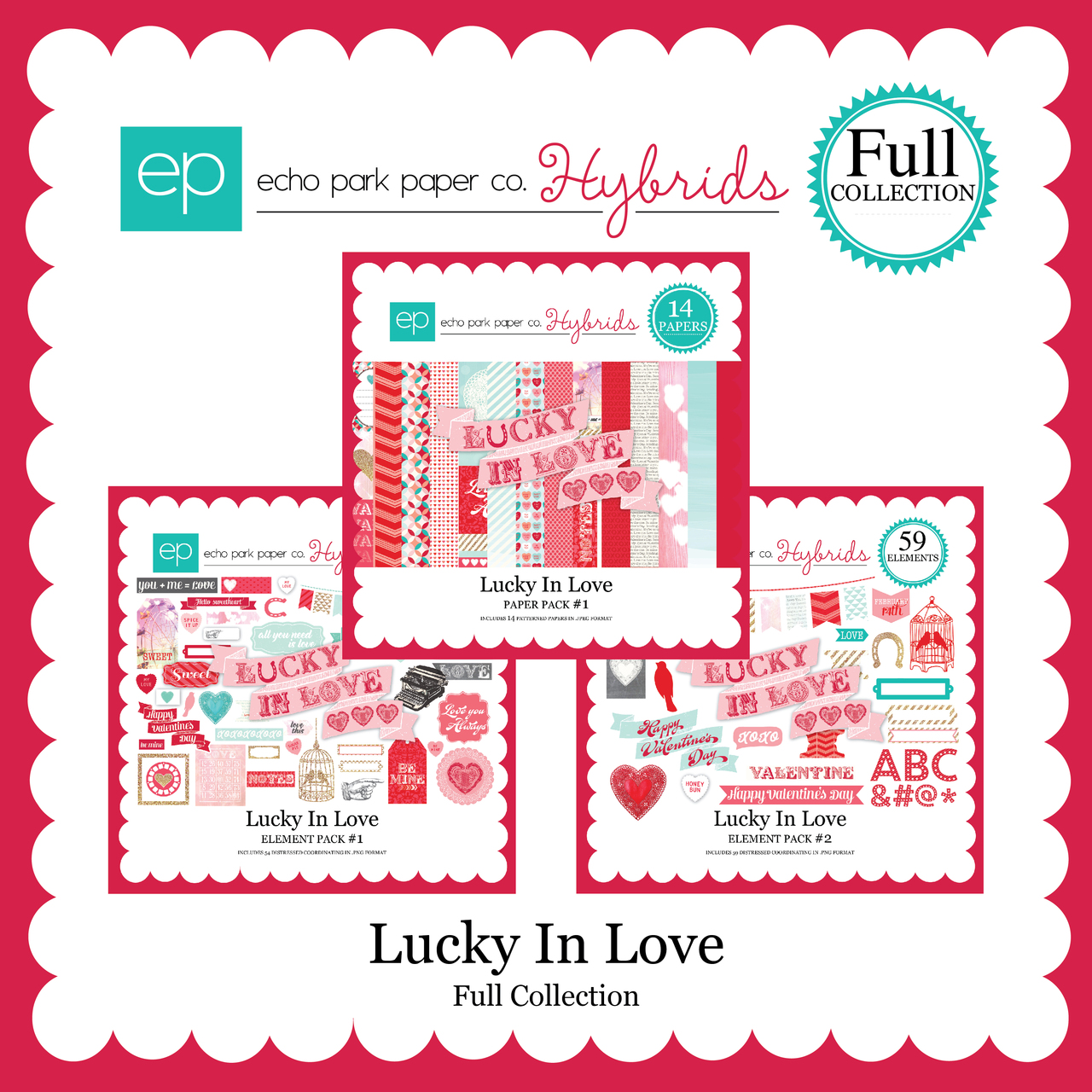 EP Lucky In Love Full Collection