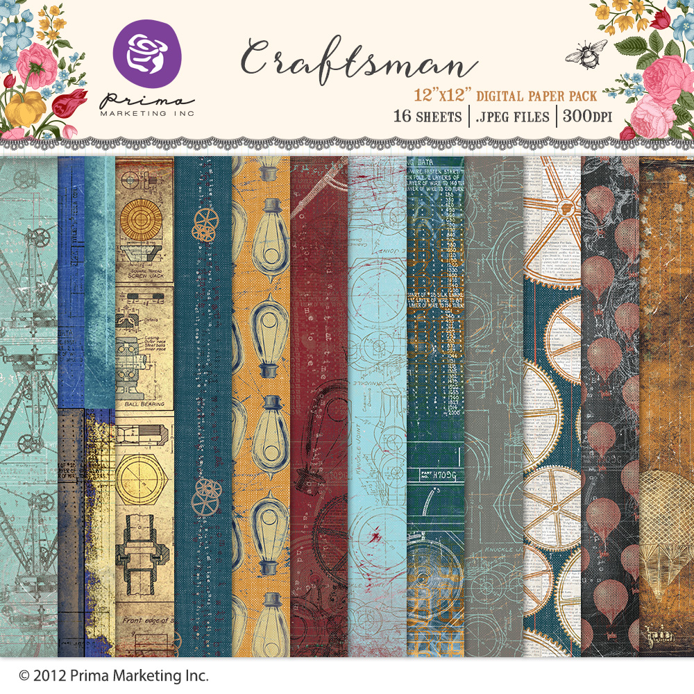 Craftsman Paper Pack