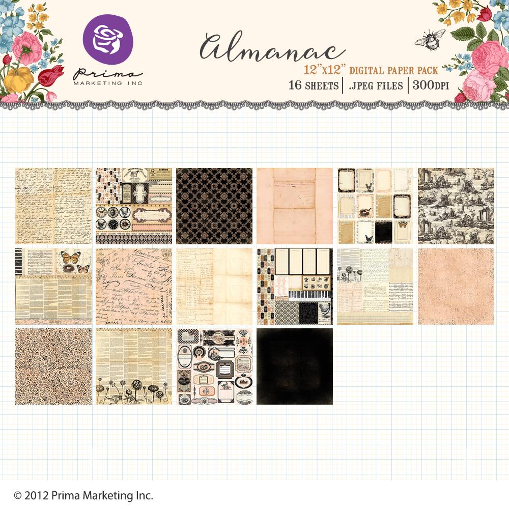 Almanac Paper Pack