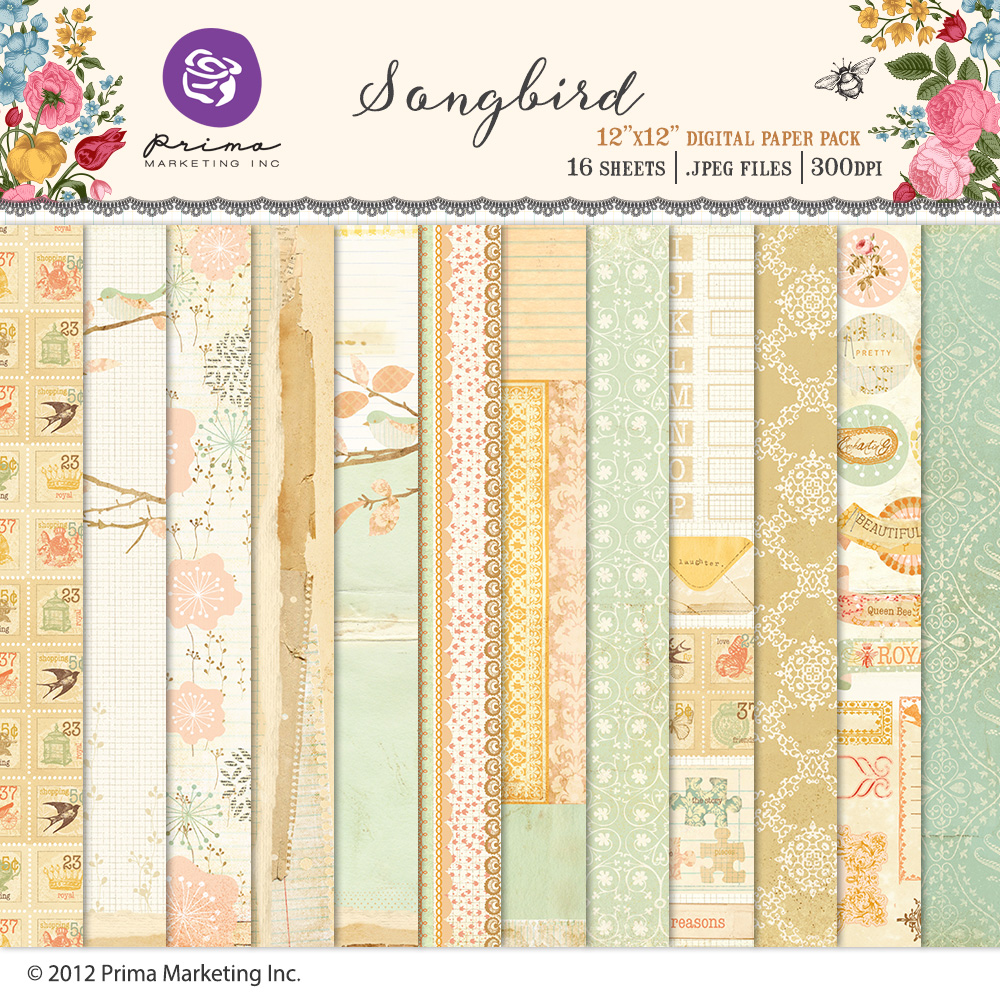 Songbird Paper Pack