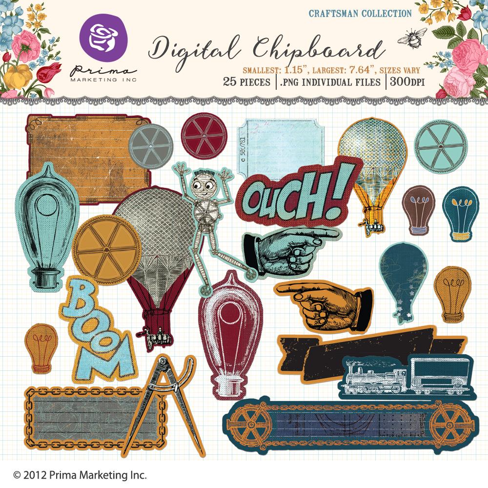 Craftsman digital chipboard