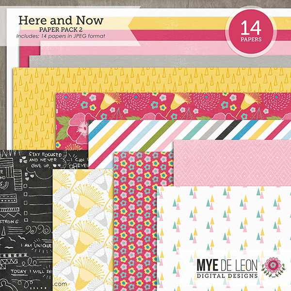 Here and Now | Paper Pack 2