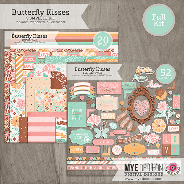 Butterfly Kisses | Full Kit