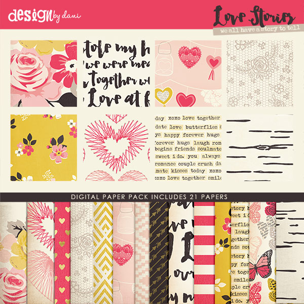 Love Stories Paper Pack