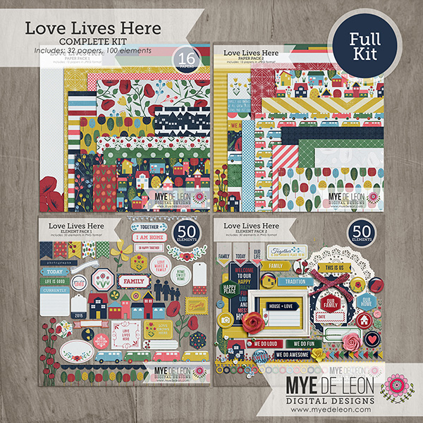 Love Lives Here | Complete Kit