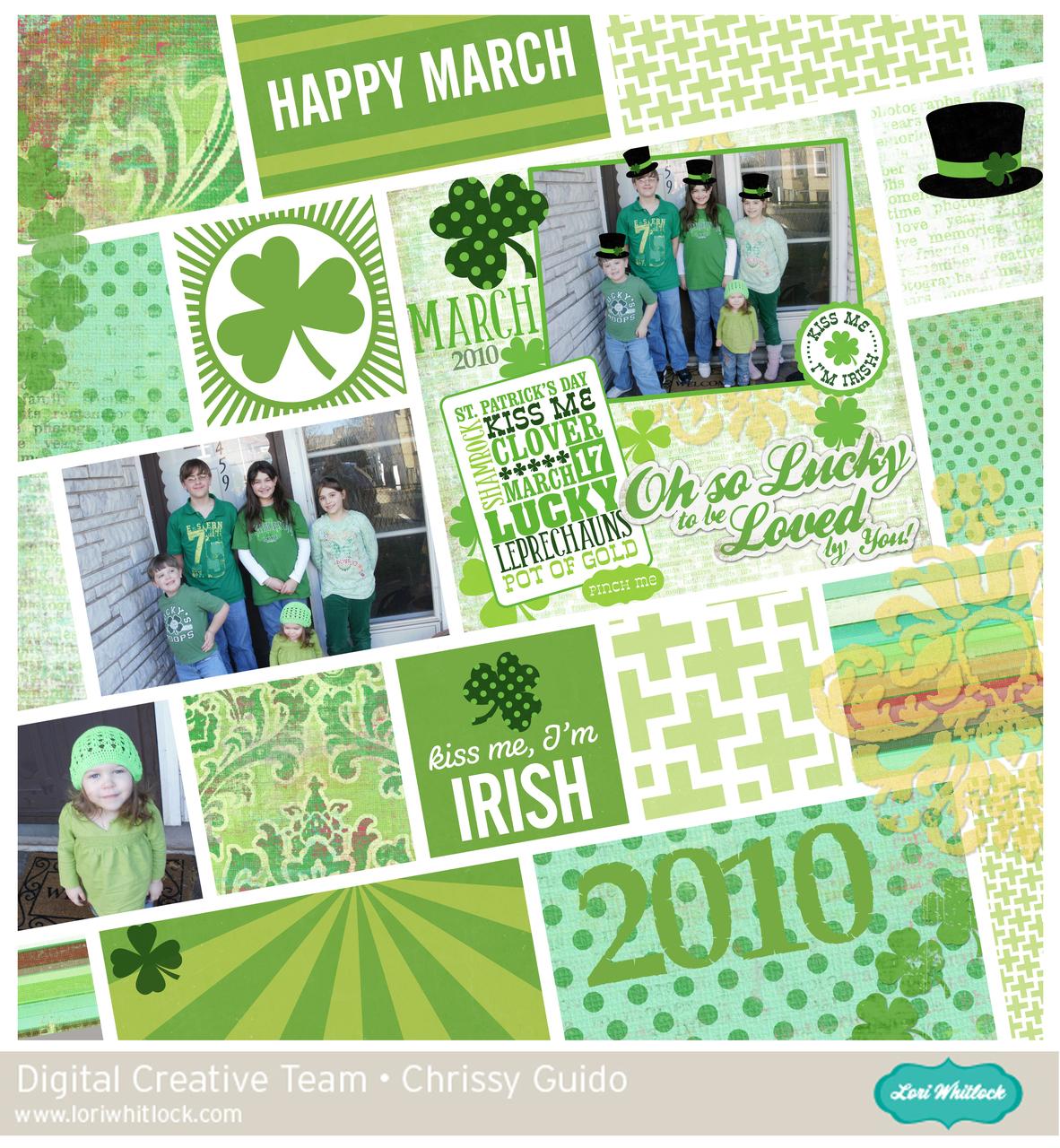 St. Patrick's Day Elements