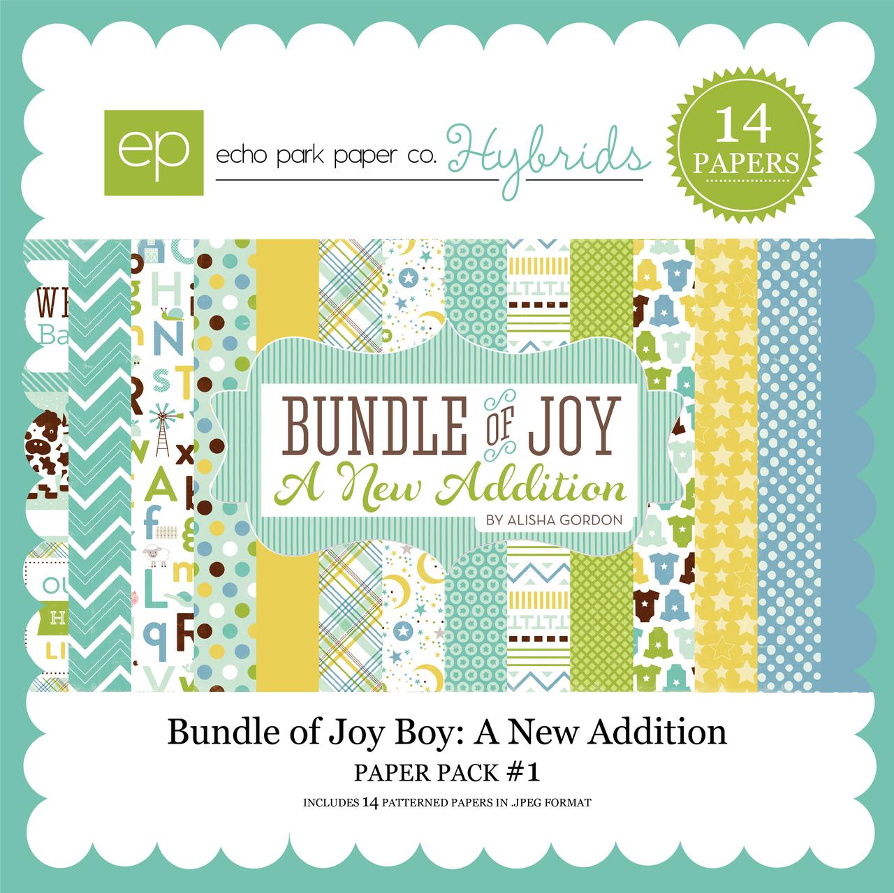 Bundle of Joy Boy: A New Addition Paper Pack