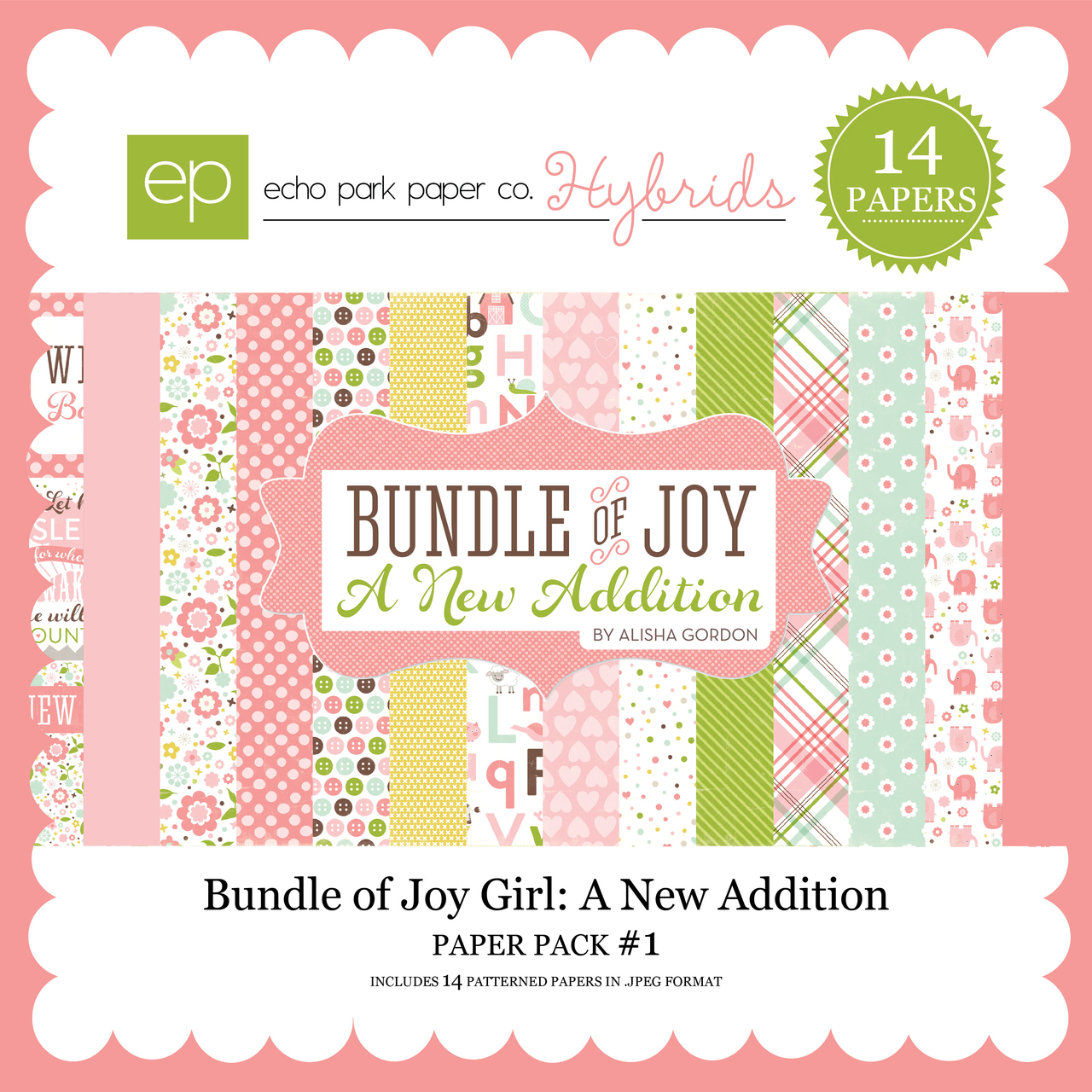 Bundle of Joy Girl: A New Addition Paper Pack