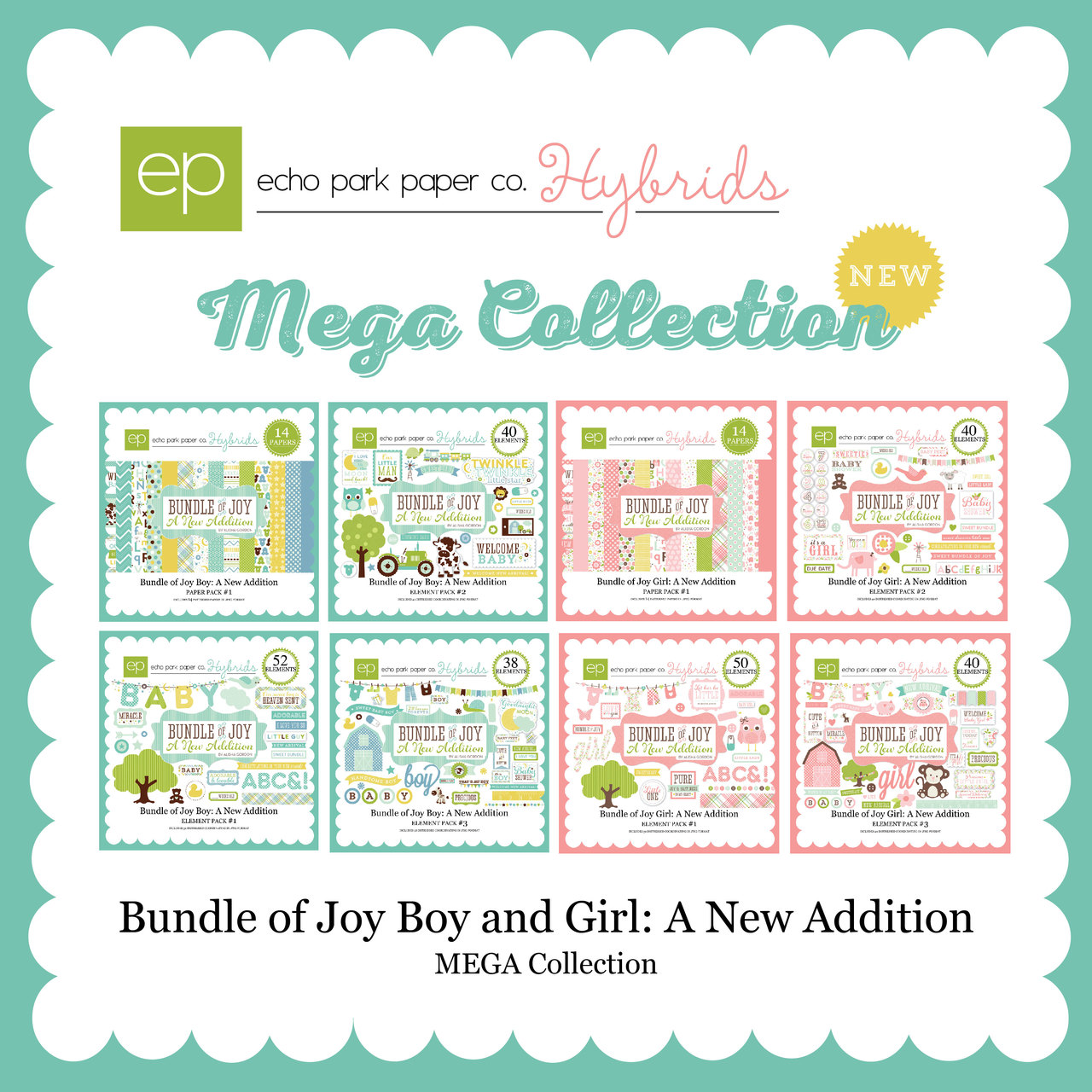 Bundle of Joy Boy: A New Addition Mega Collection